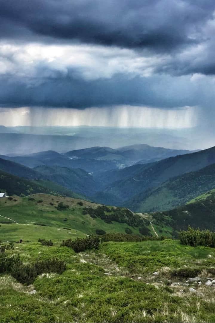 Storm in Low Tatras