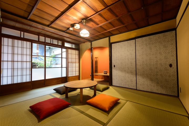 15 mins from Kyoto St./Superior Tatami for 4people