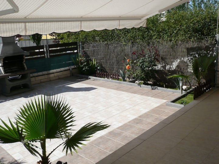 Planta baixa amb terrassa privada