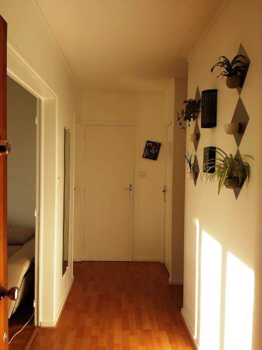 Entrée, couloir
