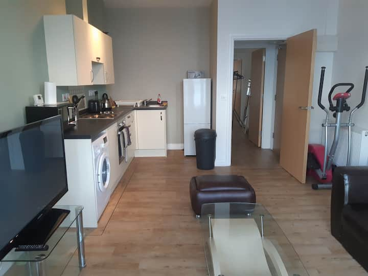 22#Lovely 1 Bed Apt, WIFI, Parking Close To It All