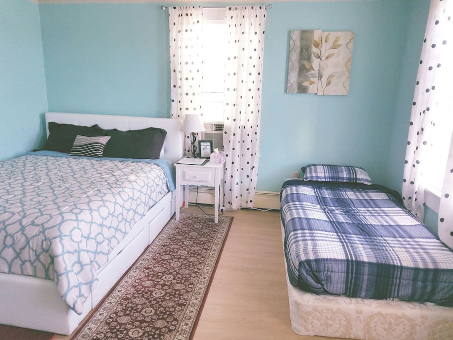 Additional bed available but will dressed with bed linens ONLY for THIRD guest or upon request PRIOR check-in for fee