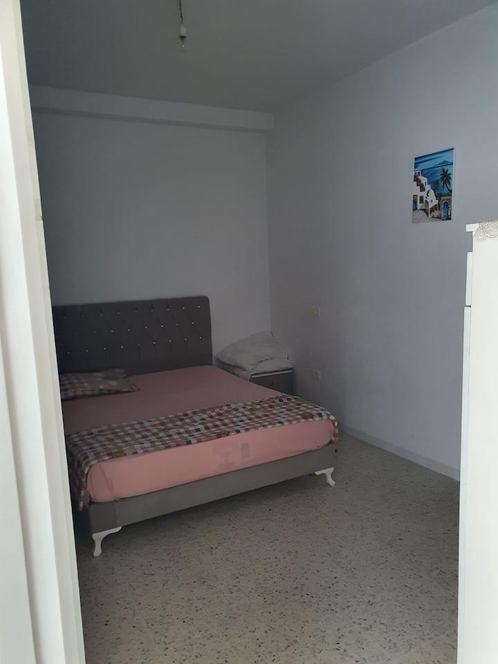 Appartement 2 chambres ,à 14 min de la plage