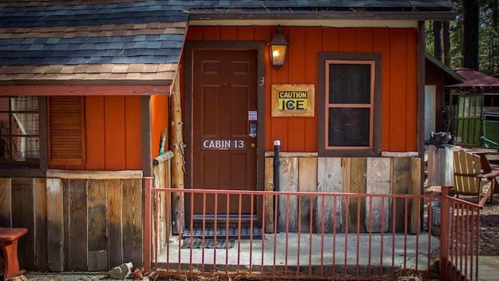 # 13, No Fee -Camping  Cabins 4 Less,  sleeps 2