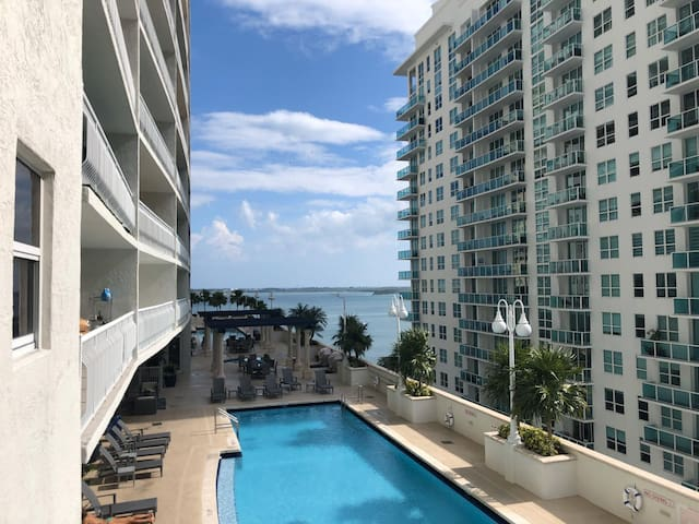 ** Amazing Condo @Brickell 2BEDROOMS and POOL***