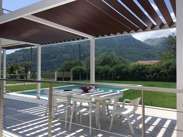 Villa Eugénie, entre mer et montagne