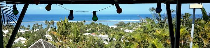 Grand Studio «CocoLagon» - Calme et vue lagon