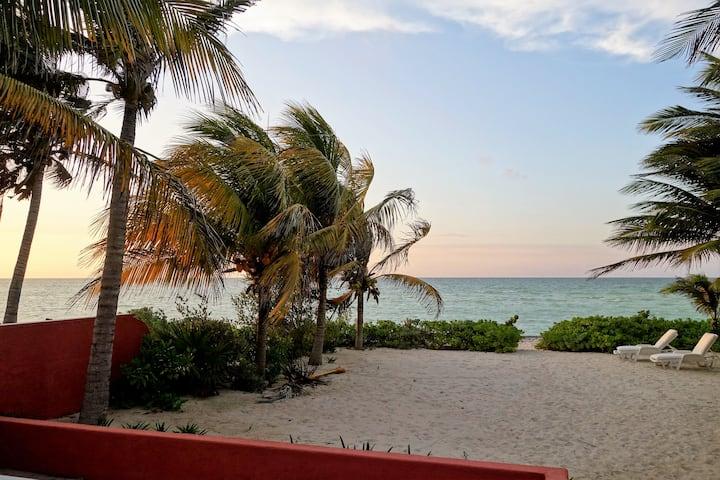 Casa de playa en Uaymitún, Yucatan / Beach house