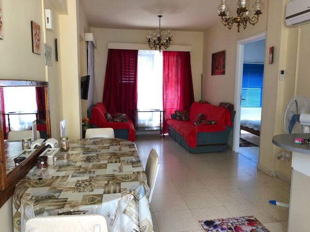 Cozy, comfortable 2-bedroom apartment close to sea