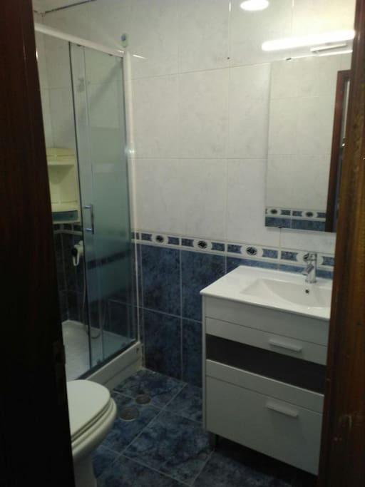 Casa de banho - moderna e elegante.