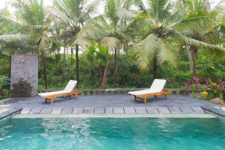 Pondok Bodag #1 | One bedroom Villa with big Pool - Ubud