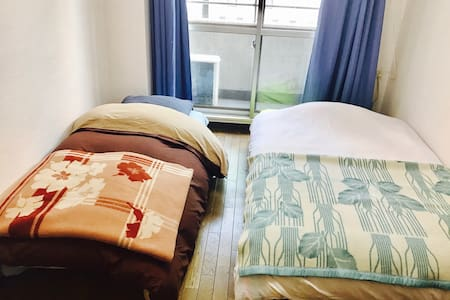 TWIN BEDS for GROUP of TWO (2) !!! - Shinjuku-ku