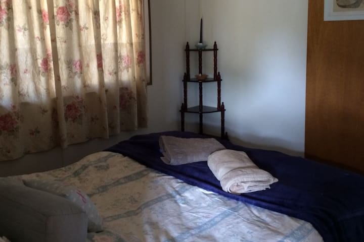 The comfortable bedroom for two
