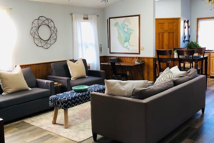 The Pulaski House- Vintage, Modern! Enjoy!