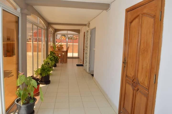 Appartement sécurisé, paisible et pas cher