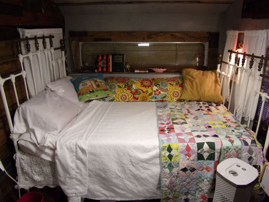 The Bed in the Chalet