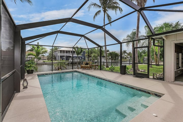 Pool Home with Incredible Boating Access, & Boat Lift!