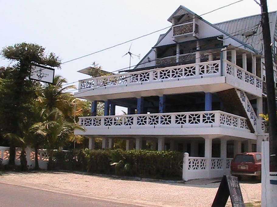 We have wonderful balconies and sea views. Free WiFi in all rooms, A/C, Hot/Cold showers, Cable TV