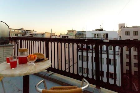 ☀ Rooftop City Center Apartment with Terrace ☀