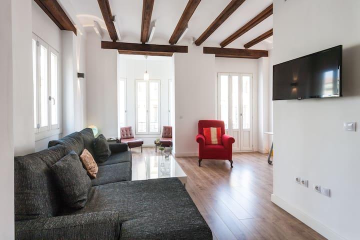 Apartamento tipo loft muy céntrico