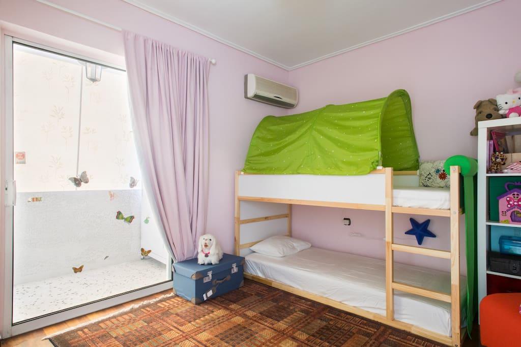 2nd bedroom - bunker bed