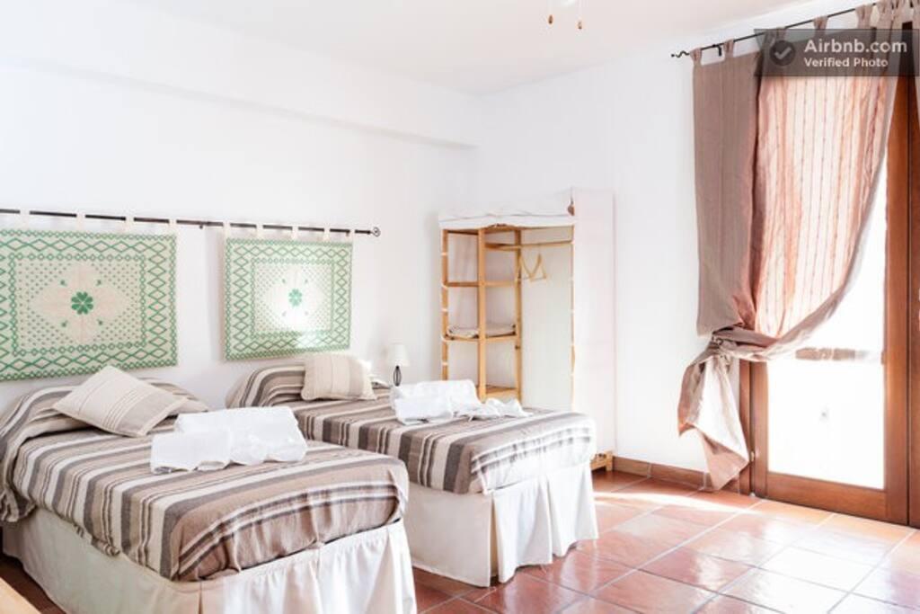 camera da letto doppia/matrimoniale o tripla
