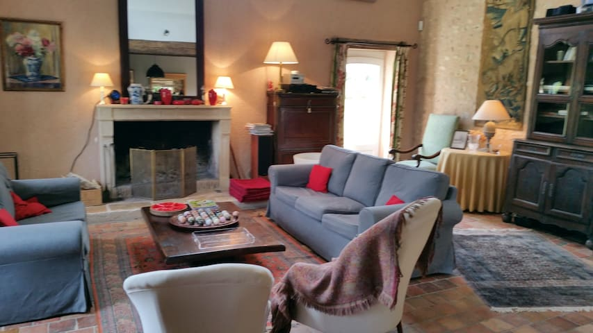 Maison familiale, Région Centre-Val de Loire - Marmagne - Dom