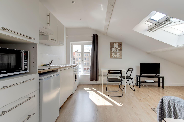 Apartment under the attic PLATEAU CR ROUSSE