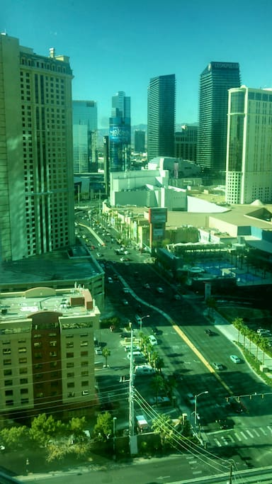 Strip view from unit