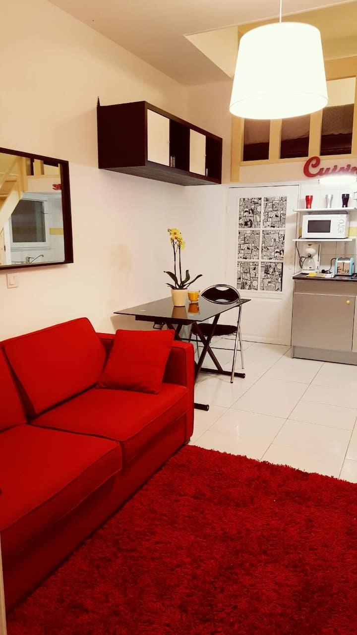 Studio agréable meublé à viry chatillon