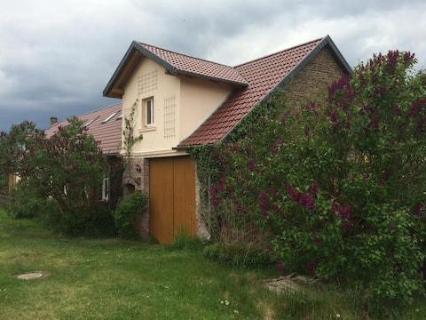 GETAWAY with private courtyard in idyllic Liessen