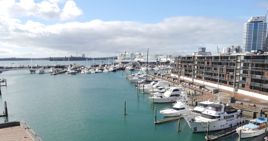 Wynyard Quarter luxury apartment with car park