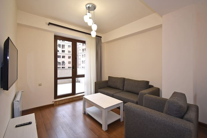 Apartment with balcony just near Republic Square