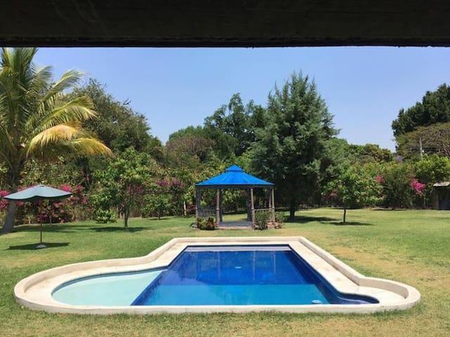 La casa del Kiosco Azul - Tlaltizapán - Ev