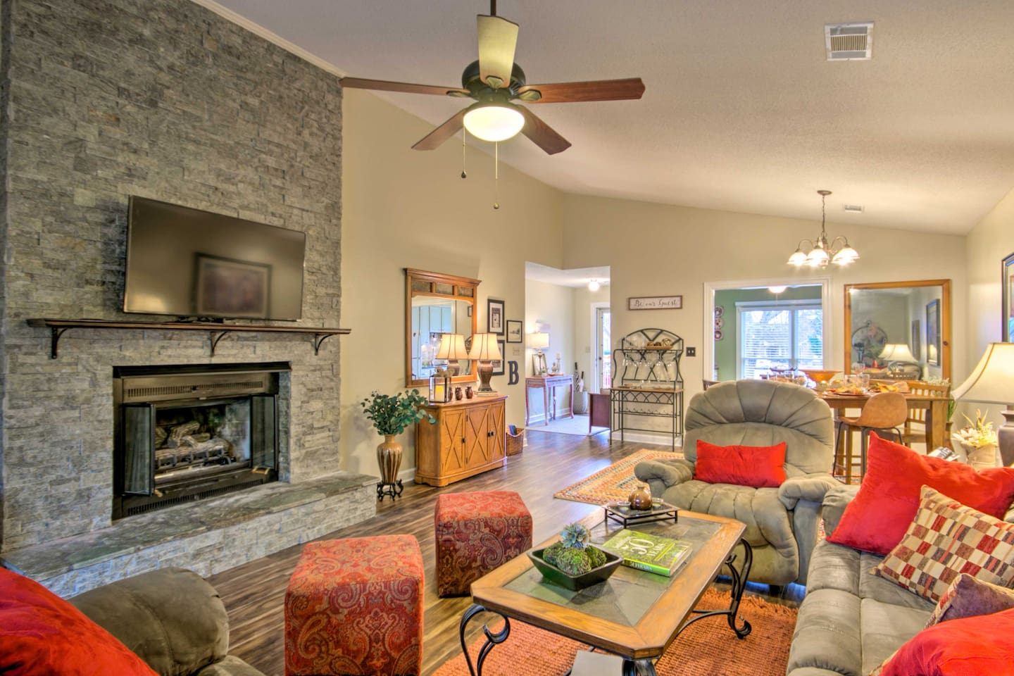 Make yourself at home in this Greenwood vacation rental condo!