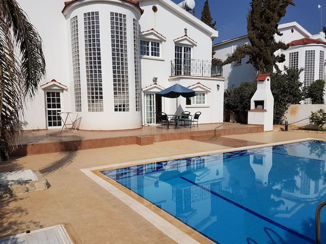 North Cyprus Lux 4 bed coastal Villa. Own Pool