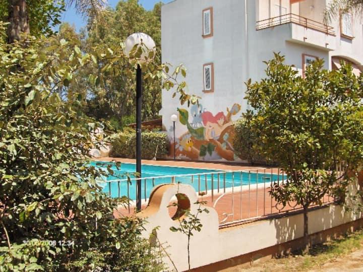 Stupendo appartamento in residence con piscina