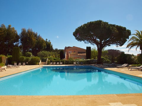 Luxury residence in Pampelonne close to St Tropez