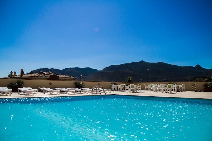 ONE BEDROOM APARTMENT (4 pax) RESIDENCE LE FONTANE