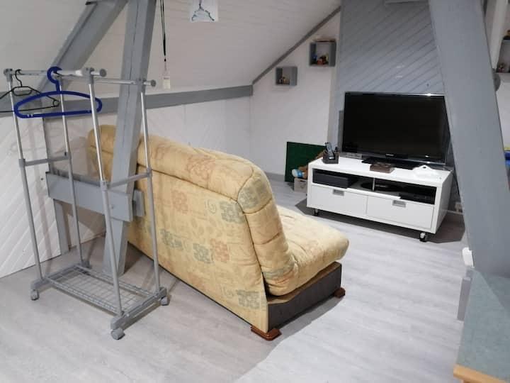 Chambre meublée spacieuse, confortable, familiale