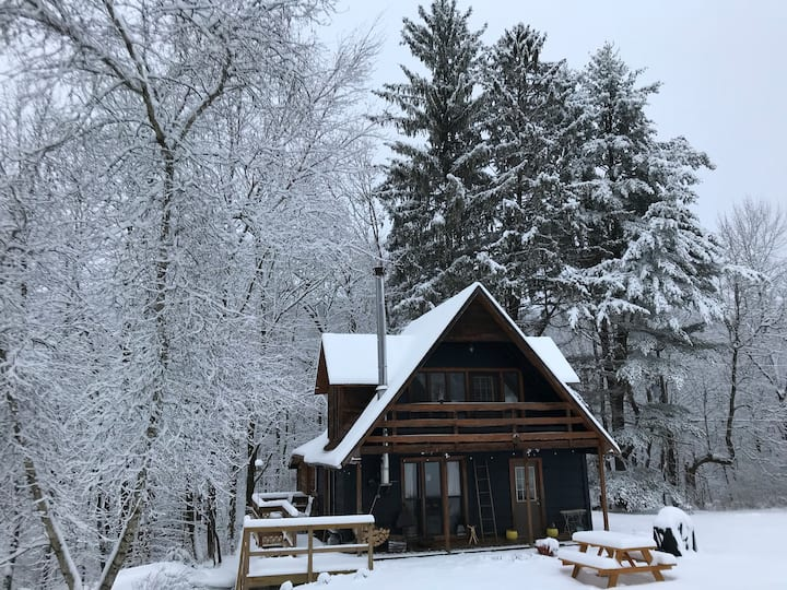 Cabin@Crow Hill: unplug and reconnect with nature