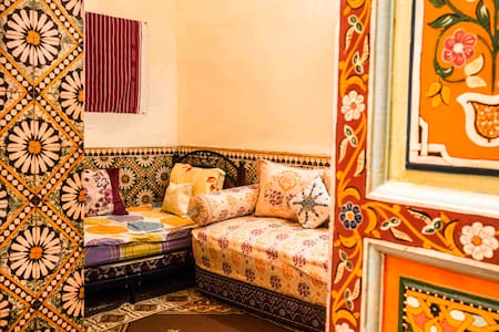 """""""Fatima"""" room in authentic house"""