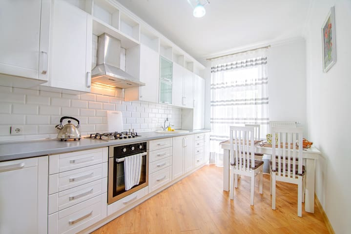 Charming downtown apartment in safe and quiet area