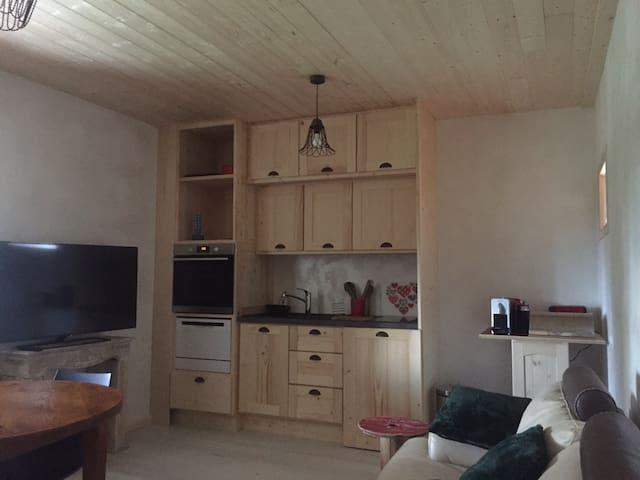 Appartement meublé et indépendant