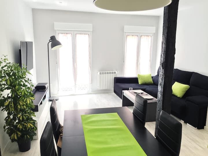 Moderno y luminoso apartamento en pleno centro