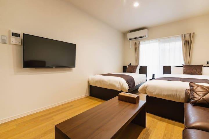 「Cocolie102」2019年7月オープンのアパートメントタイプ新築ホテル!