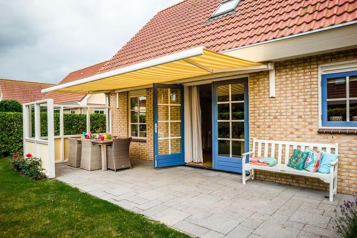 Luxe bungalow op ideale locatie! - 35 - Schoorl - Dom