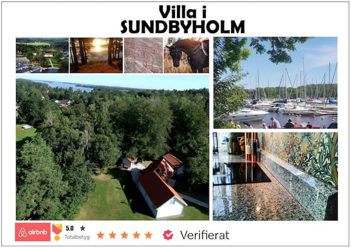 Stor villa i hjärtat av Sundbyholm