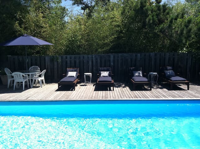 Fire Island Pines House Private Sunny Heated Pool