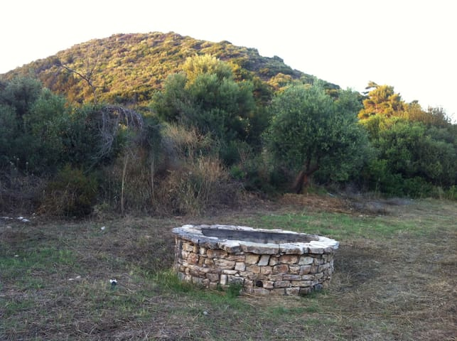 Vounaki Hill - Natural Well by the private camping site